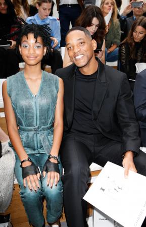 Will Smith en zijn dochter Willow