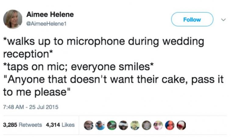 IEDEREEN stapt plots in het huwelijksbootje.