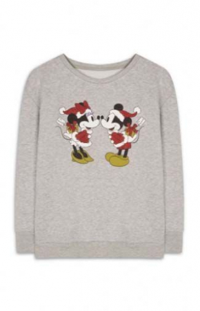 Le pull Minnie et Mickey