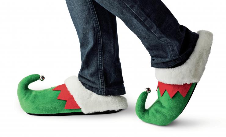 Pantoufles d'elfes
