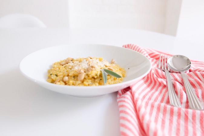 Le risotto au butternut