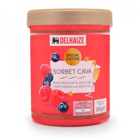 Sorbet Cava Rode Vruchten & Viooltjes