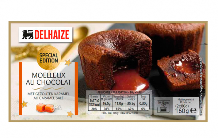 Moelleux au Chocolat met Gezouten Karamel