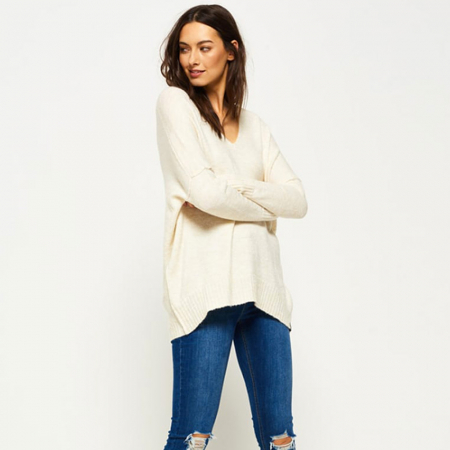 Le pull-over oversized