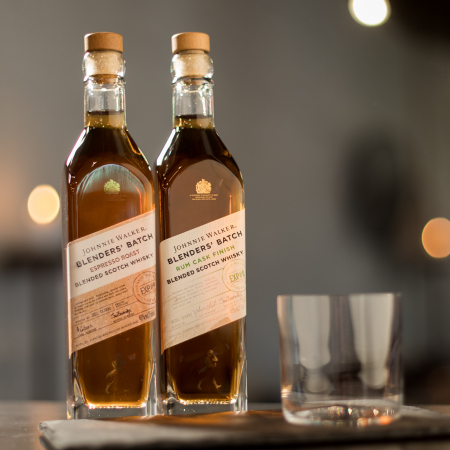 Johnnie Walker Blenders' Batch Espresso Roast en Johnnie Walker Blenders' Batch Rum Cask Finish