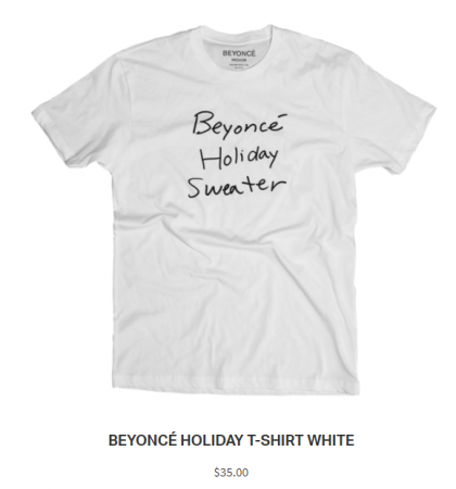 Kerstcollectie Beyoncé
