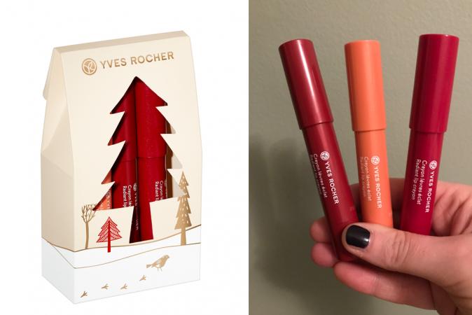 Cadeauset van drie glossy lippennen