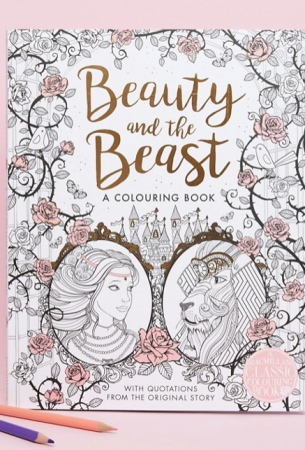 Kleurboek van 'Beauty and the Beast'