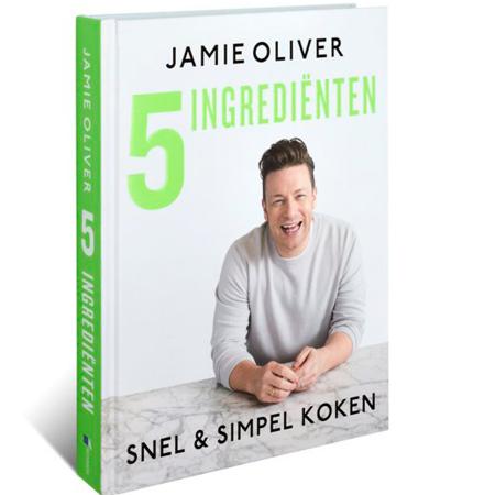 3.Jamie Oliver – 5 ingrediënten: snel & simpel koken