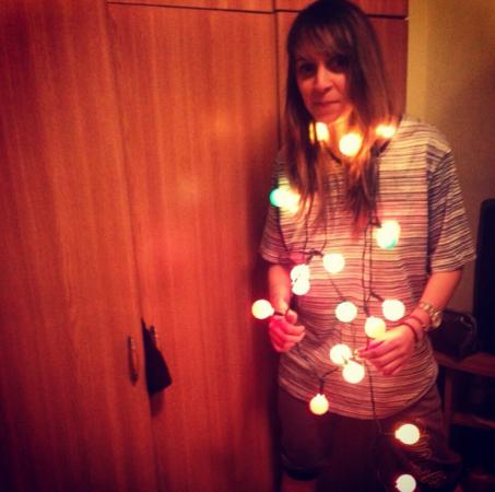 Je kan natuurlijk ook zelf voor kerstboom spelen<br /> @alexandra.sacagiu