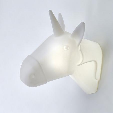 Lampe mural licorne