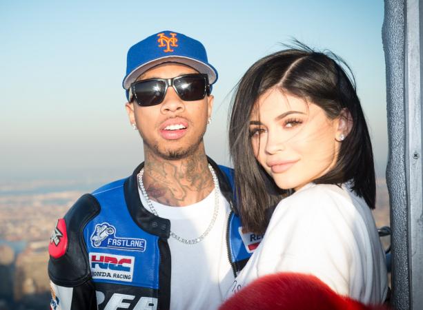 Tyga (28) en Kylie Jenner (20)