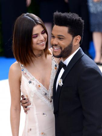 Selena Gomez (25) en The Weeknd (27)