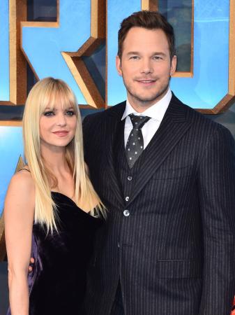Anna Faris (41) en Chris Pratt (38)
