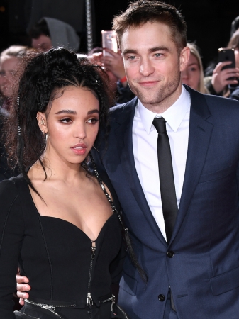 FKA Twigs (29) en Robert Pattinson (31)