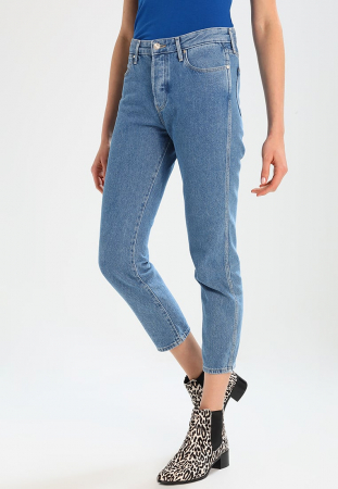 2018: cropped straight leg jeans
