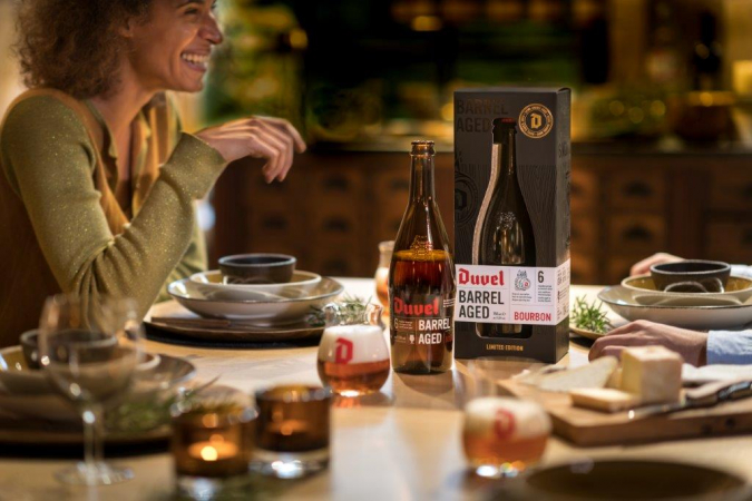 Duvel Barrel Aged Giftpack (75 cl + glas)