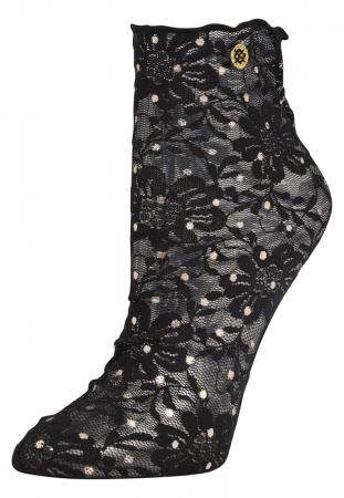 Doorschijnende sokken