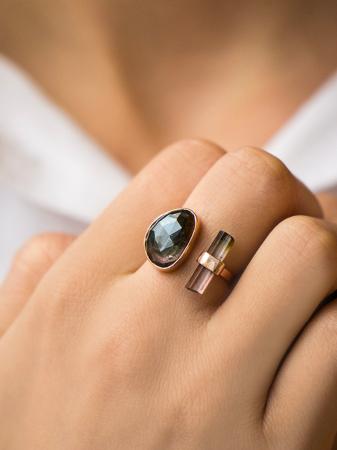 De open ring