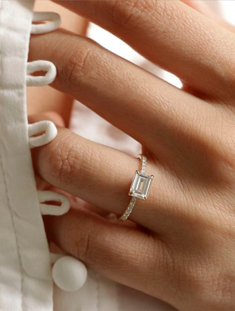 Le diamant horizontal