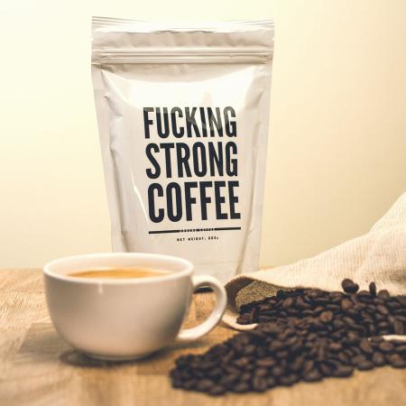 Supersterke koffie