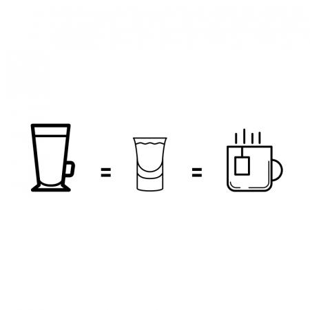 Drankje na het eten