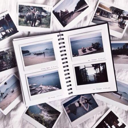 Maak een fotoalbum the good old way