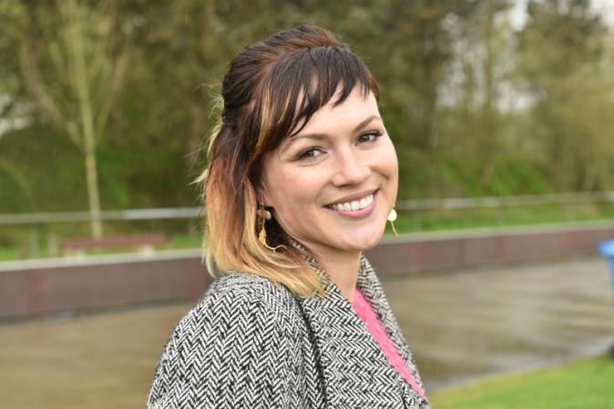 Actrice Erika Van Tielen