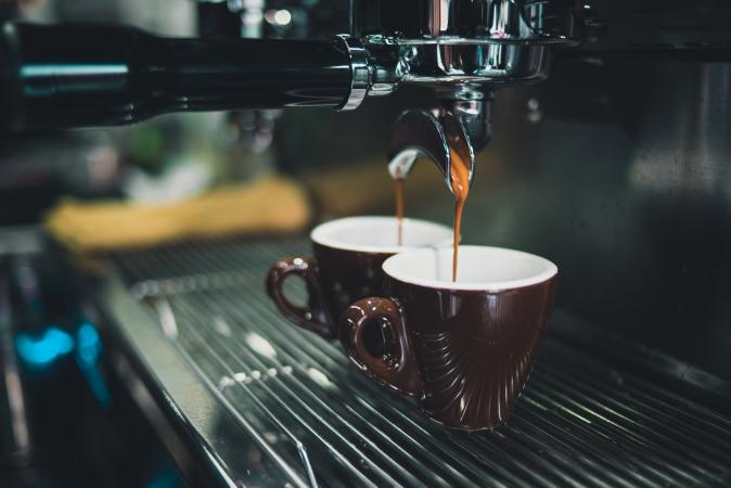 Ristretto = 1 kortgehouden shot espresso van 15 tot 20 ml