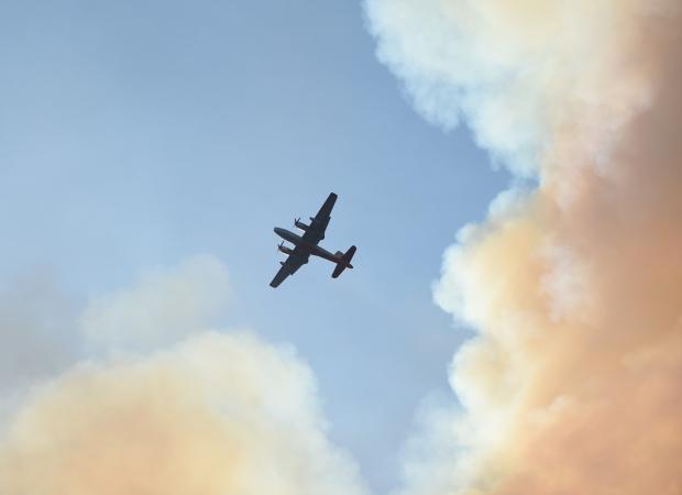 Un poste d'observation des avions de Zaventem