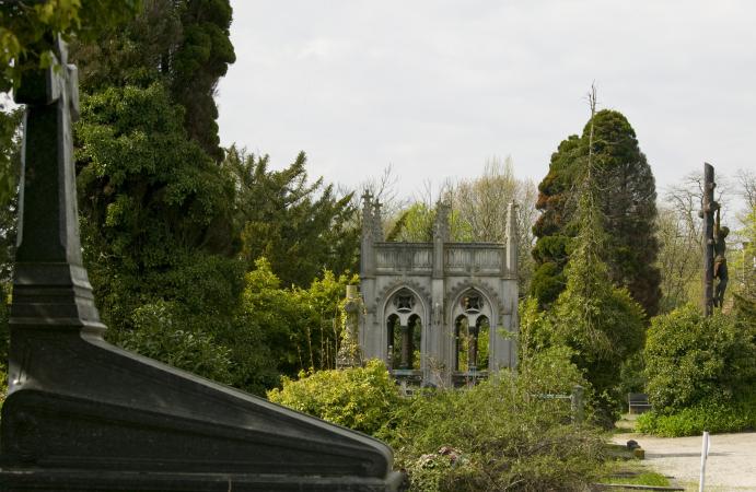 Le cimetière du Dieweg