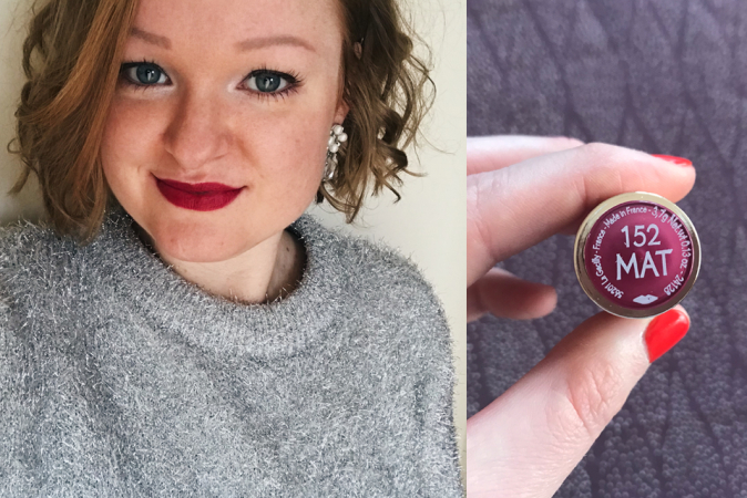 Lipstick Grand Rouge Mat in de tint 152