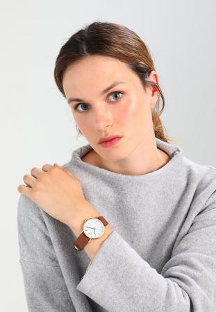 Horloges met een leren bandje