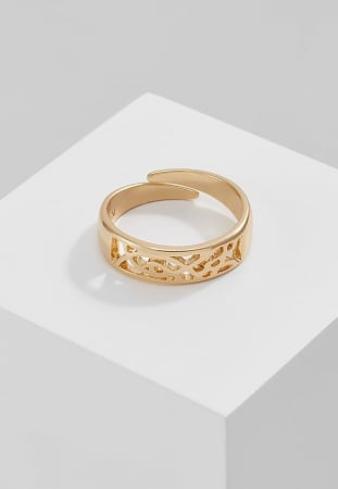 Platte ringen