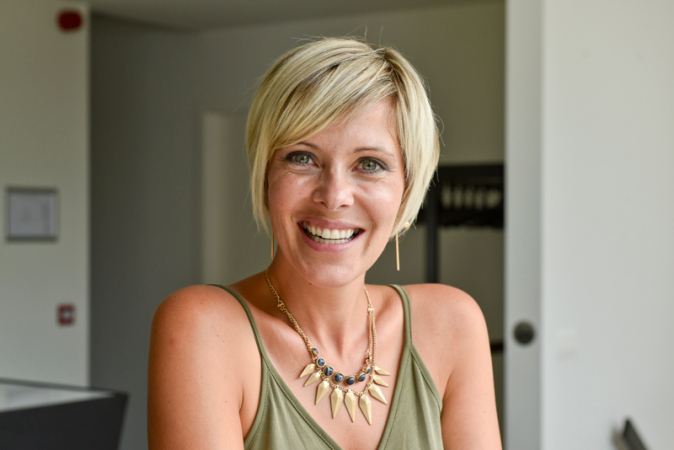 Presentatrice Hanne Troonbeeckx