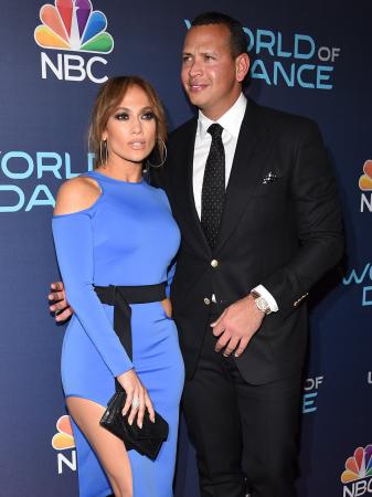 Jennifer Lopez (49) en Alex Rodriguez (43)