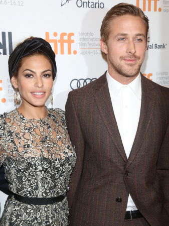 Eva Mendes (44) en Ryan Gosling (38)