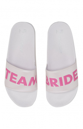 Slippers 'Team Bride'