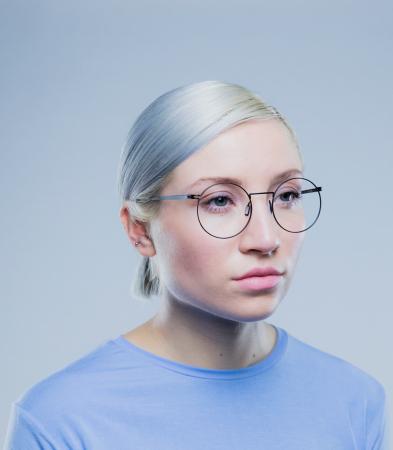 Ronde metalen bril 'Wilshire'