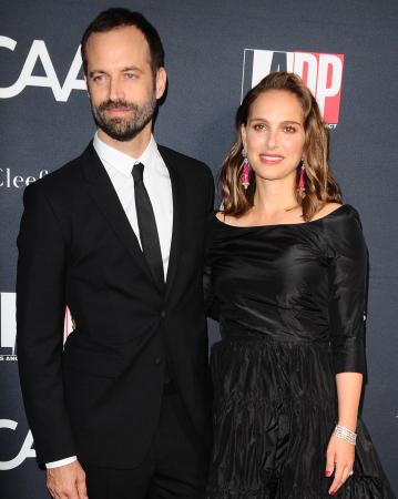 Benjamin Millepied (40) en Natalie Portman (36)