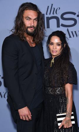 Jason Momoa (38) en Lisa Bonet (50)