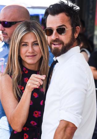 Jennifer Aniston (49) en Justin Theroux (46)