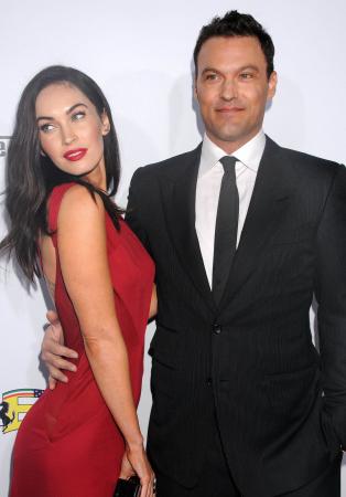 Megan Fox (31) en Brian Austin Green (44)