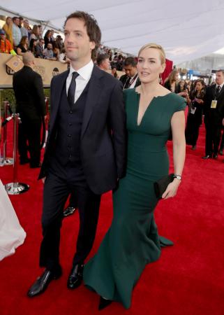 Edward Abel Smith aka Ned Rocknroll (40) en Kate Winslet (42)
