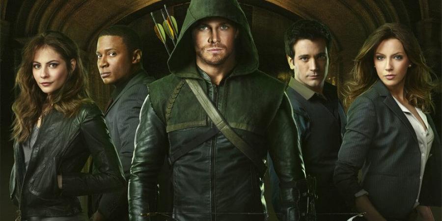 Arrow(wekelijks een nieuwe aflevering van seizoen 5 op vrijdag)