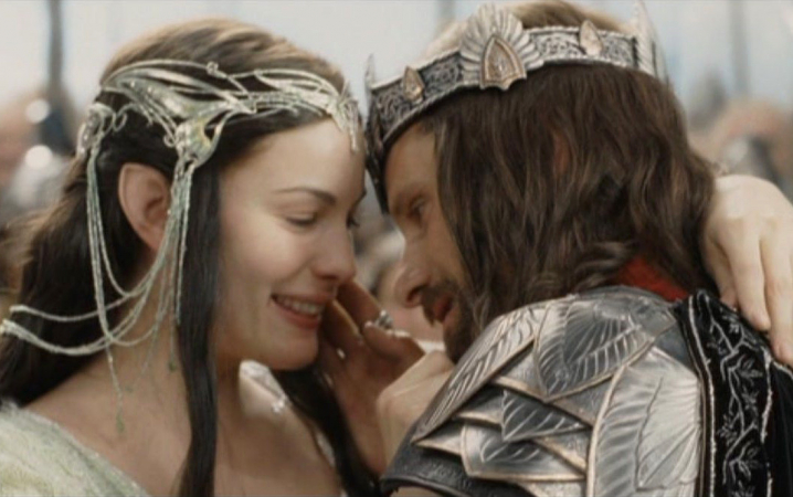 'THE LORD OF THE RING': ARWEN & ARAGORN