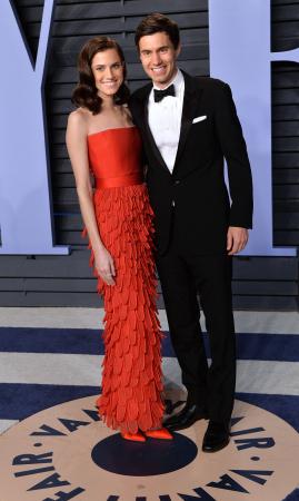 Allison Williams en Ricky Van Veen