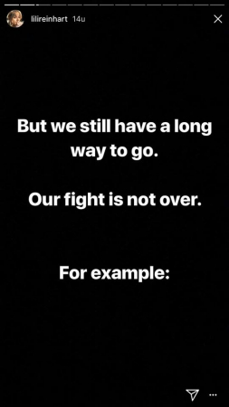Our fight is not over