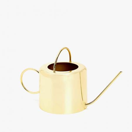 Arrosoir en métal doré