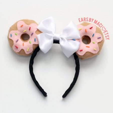 Minnie Mouse-oortjes donut